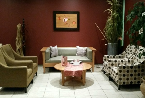 casino rama spa sitting room