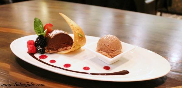 st. germain's steakhouse dessert