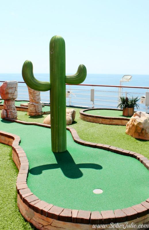 soberjulie-carnival-cruise-mini-golf