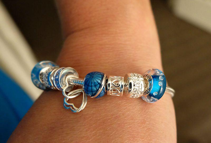 soufeel charm bracelet on wrist