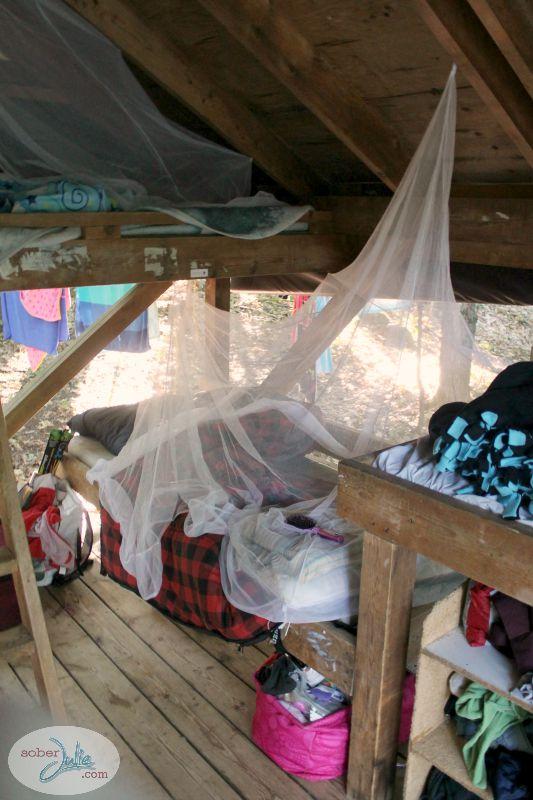 ontario pioneer camp bunk