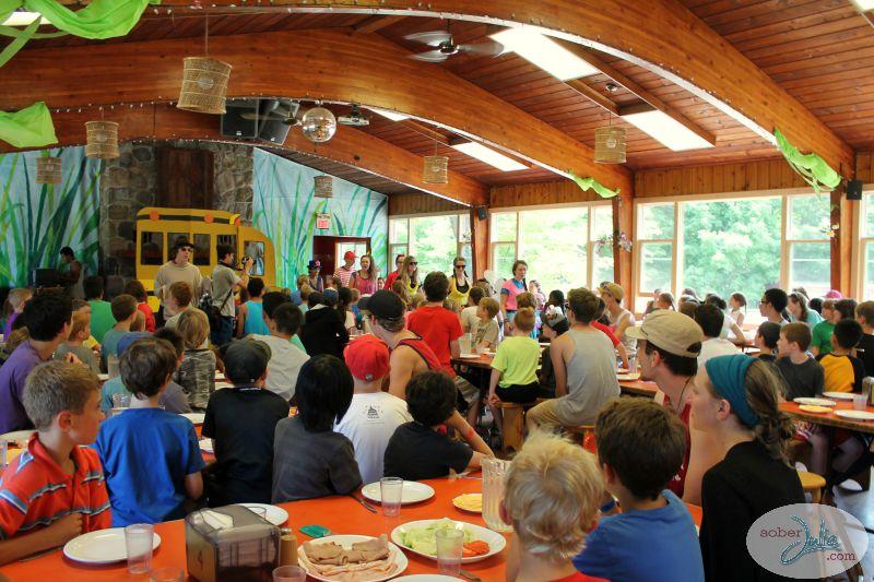 ontario pioneer camp dining hall