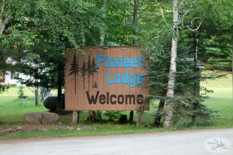 ontario pioneer camp sign