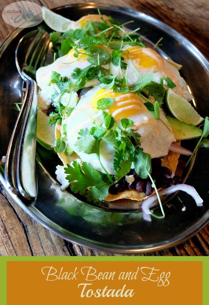 soberjulie-black-bean-and-egg-tostada