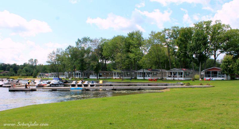 cottage parkbridge melody bay dock