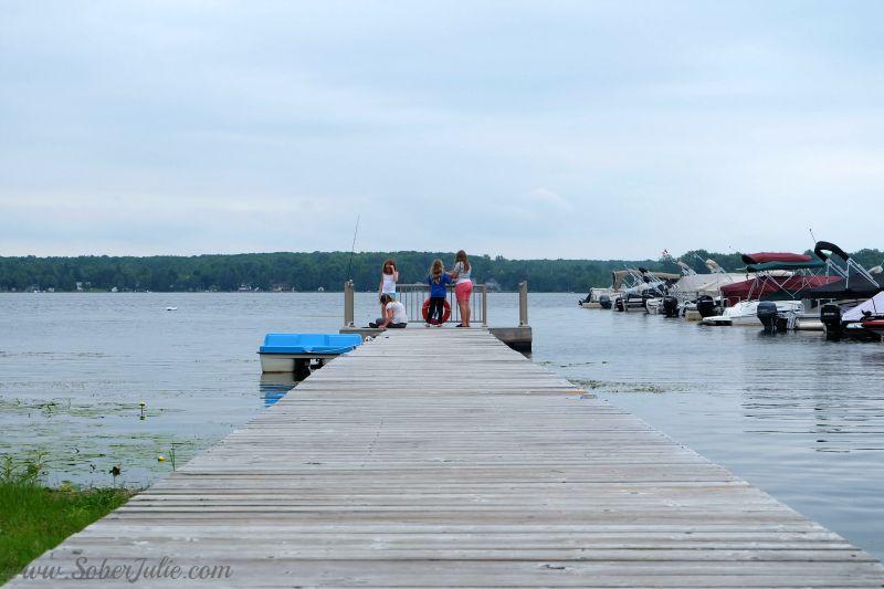 cottage parkbridge melody bay fishing