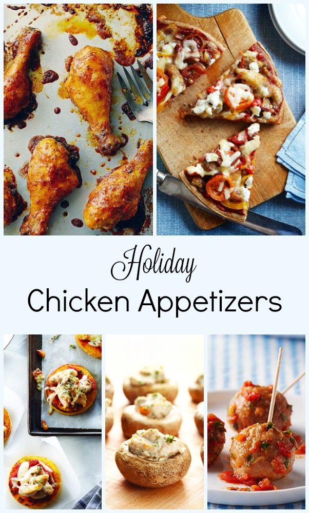 Holiday Chicken Appetizers