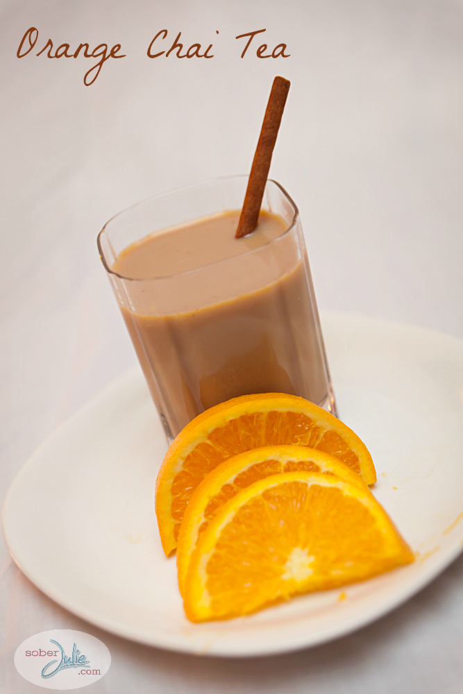Orange Chai Tea