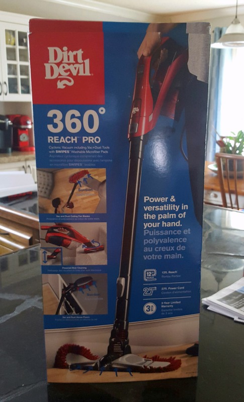 Review Dirt Devil's 360 Reach Bagless Stick Vacuum