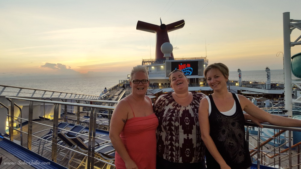 carnival cruise with friends