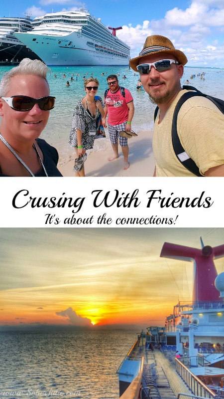 cruise with friends vacation