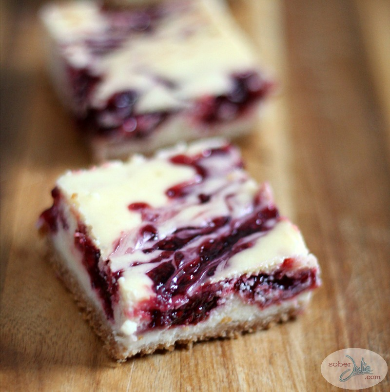 raspberry swirl cheesecake bar recipe square