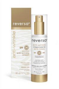 Anti wrinkle cream SPF30 box and bottle EN