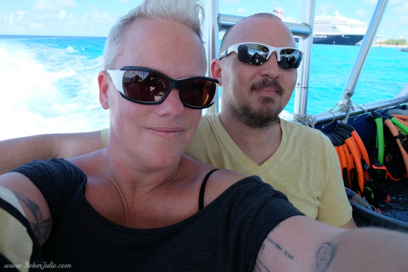 soberjulie reef and rays excursion grand turk carnival cruise
