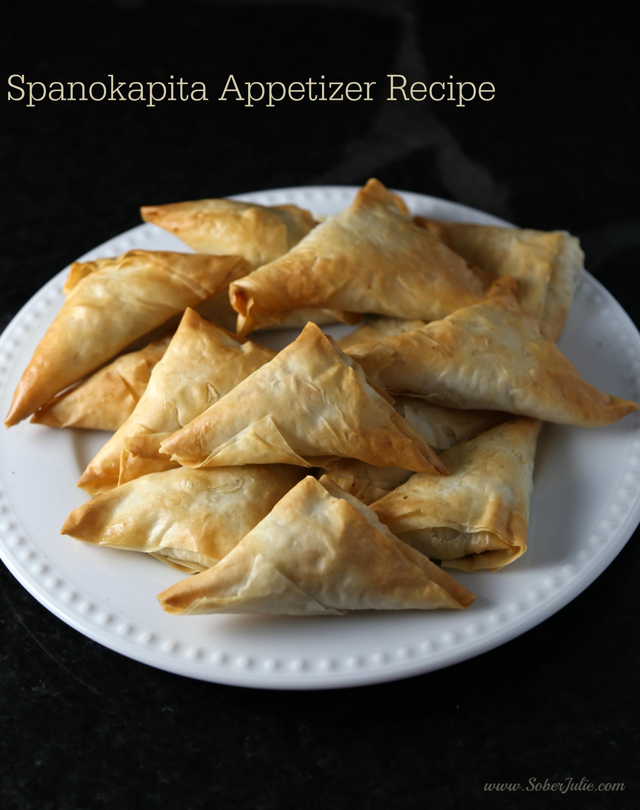 spanokapita appetizer recipe