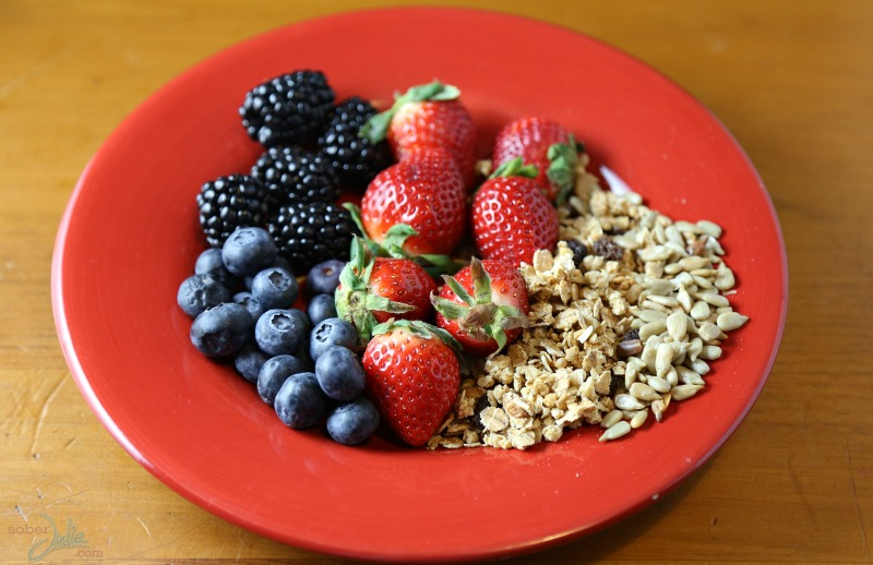 fruit plate soberjulie