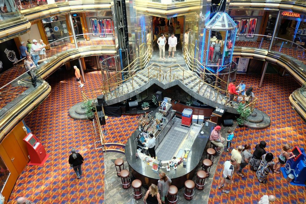 carnival ecstasy grand atrium