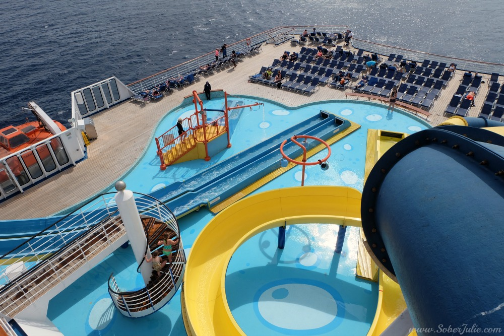 Activities On The Carnival Ecstasy Something For All Ages - Cruise ship slide