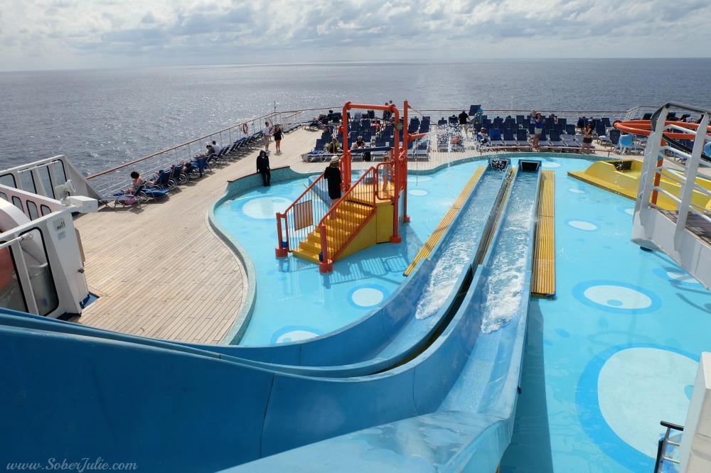 carnival ecstasy waterworks kids slide