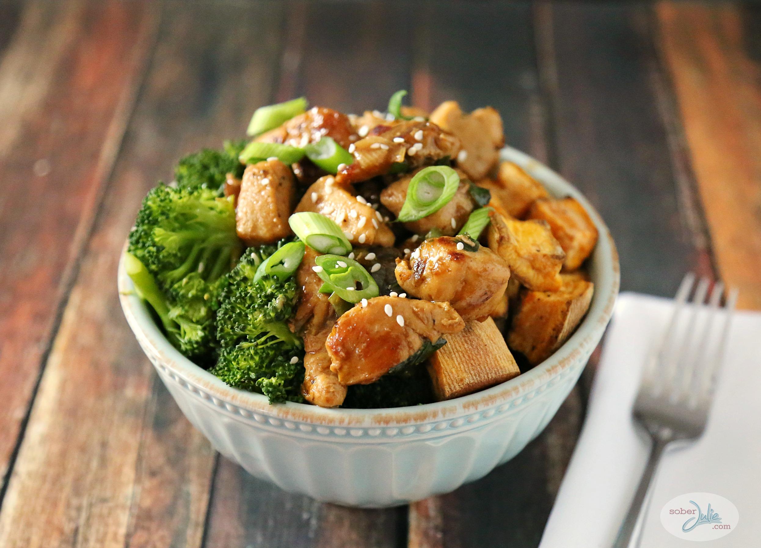 chicken teriyaki bowl recipe weight watchers