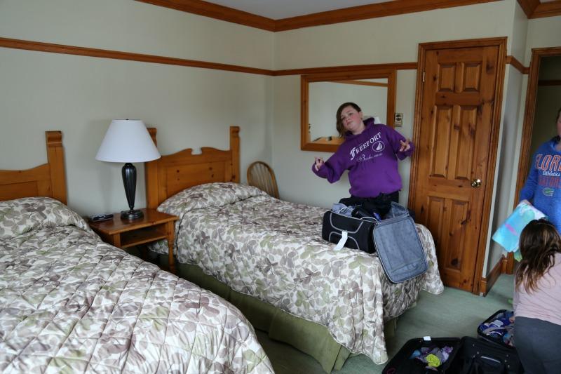 fern resort cottage bedroom 2