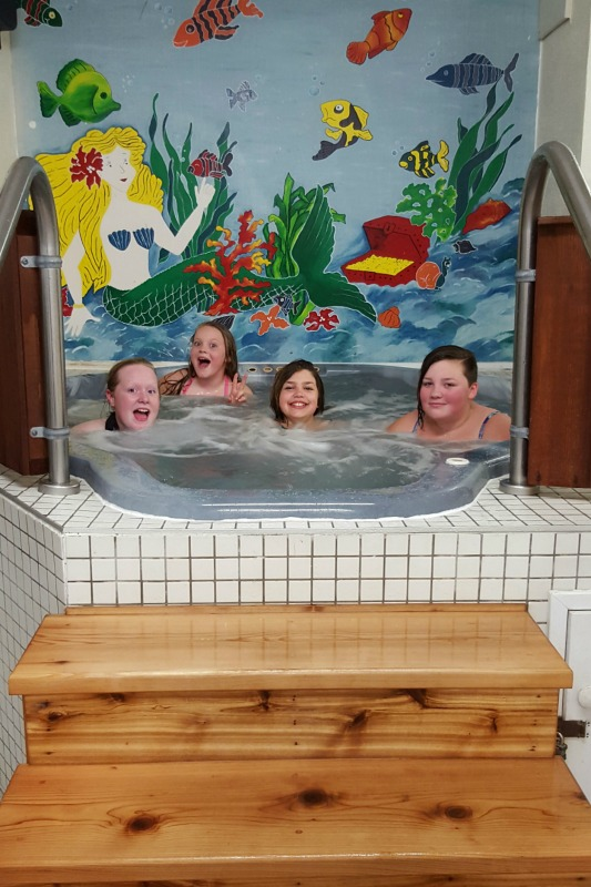 fern resort hot tub
