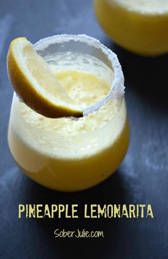 pineapple lemonarita non alcoholic drink recipe
