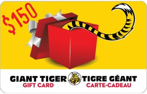 GiantTiger gift card