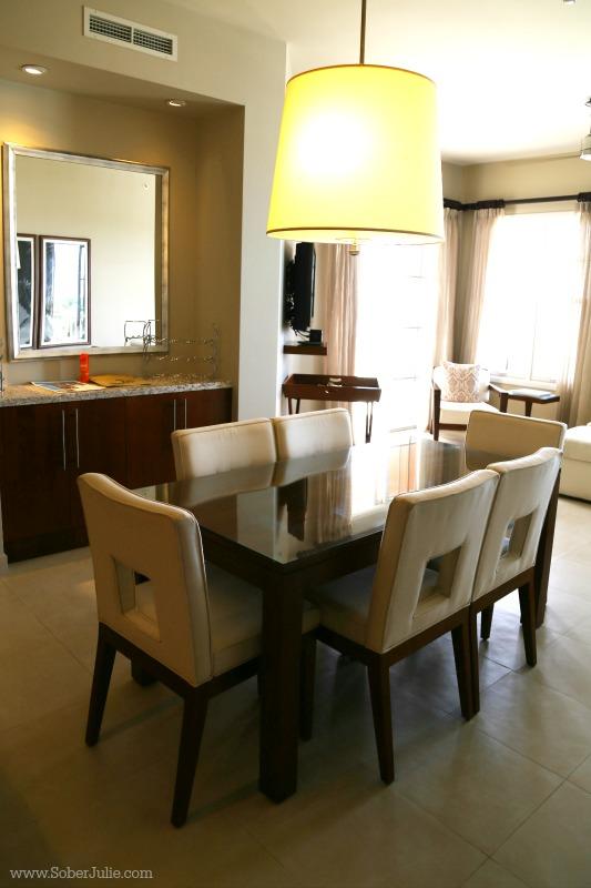 blue haven turks dining room