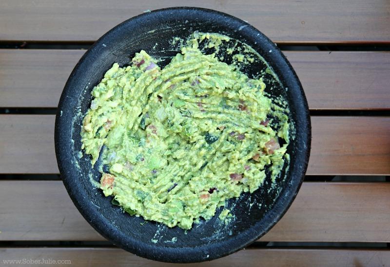 fresh guacamole rockin tacos