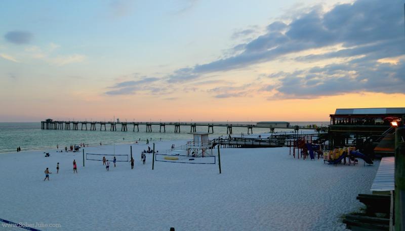 ft walton beach sunset florida