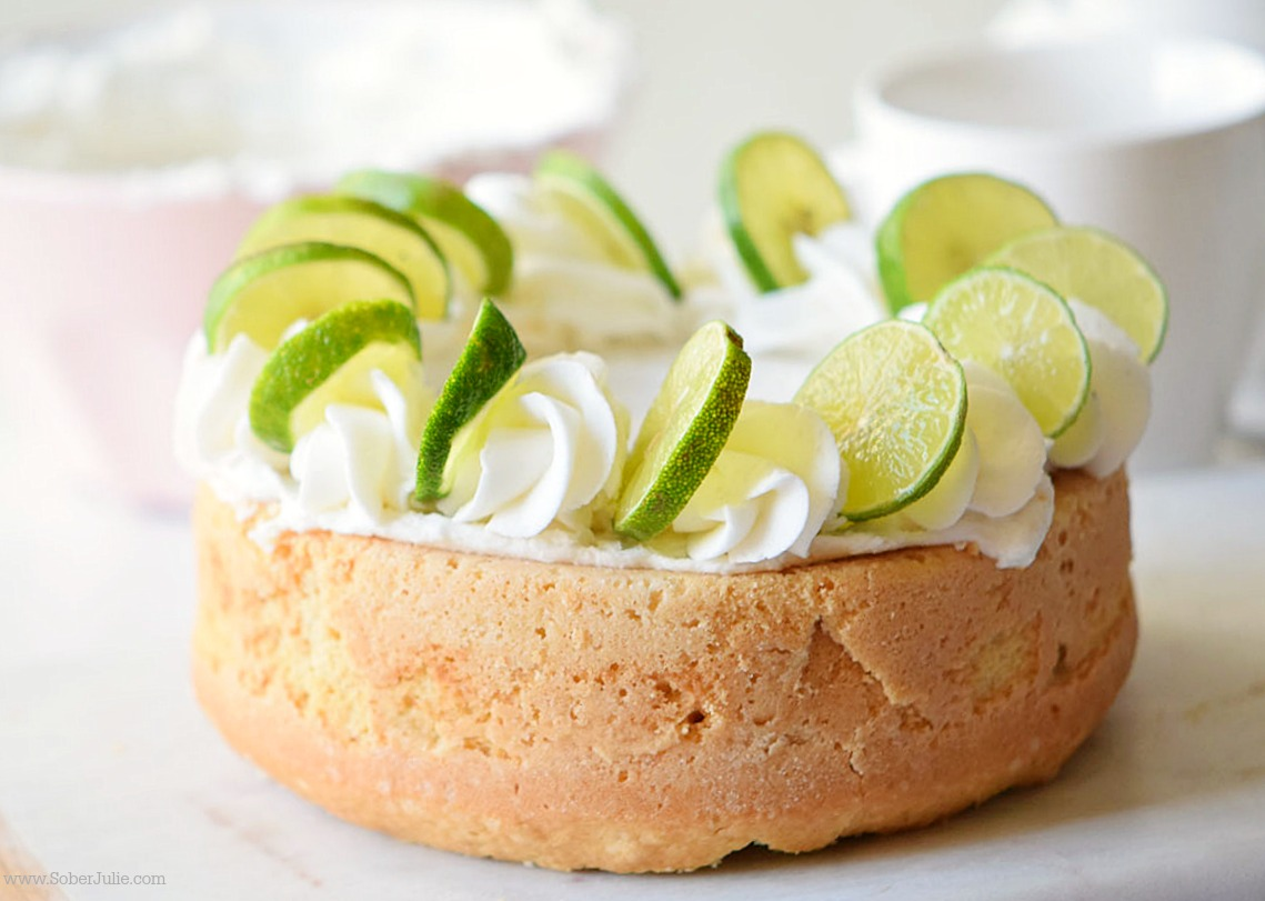 key lime pie dessert cake soberjulie