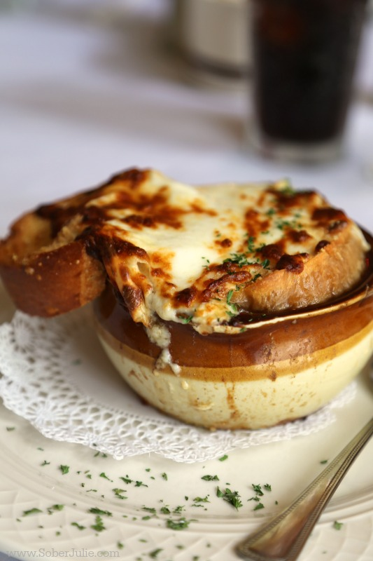 magnolia grill florida french onion soup