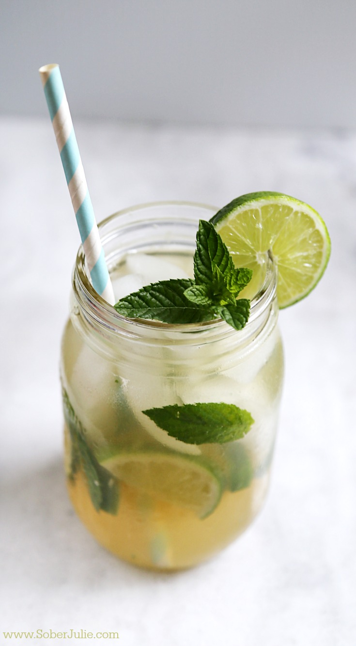 mojito non alcoholic drink recipe wm