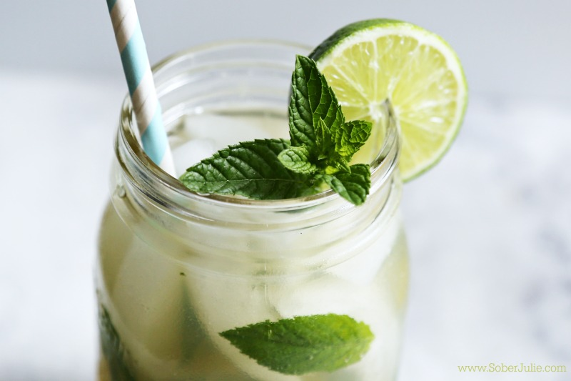 mojito nonalcoholic drink recipe summer