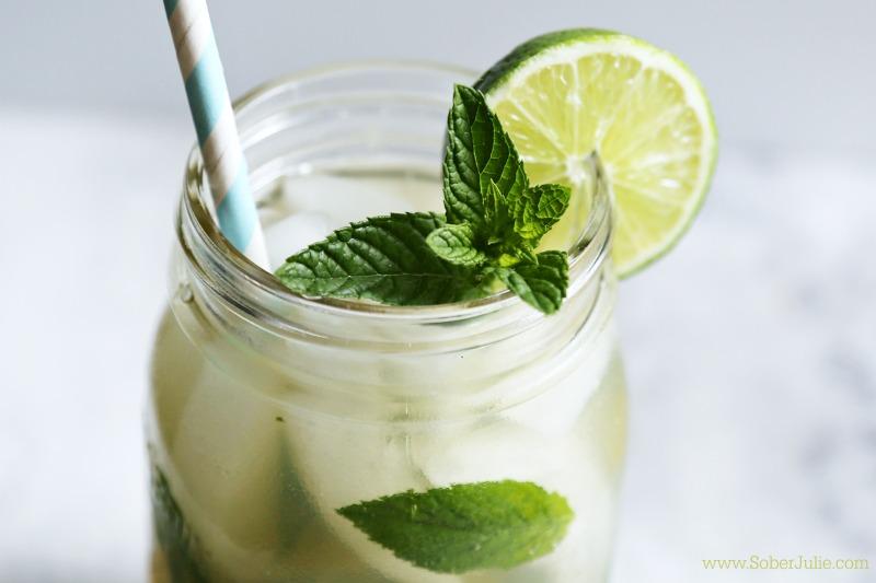 mojito nonalcoholic drink recipe summer