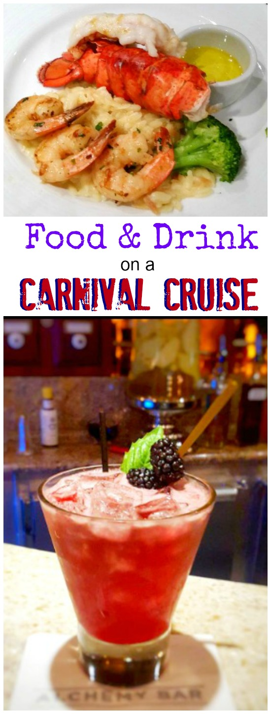 Is Food And Drink Free On Carnival Cruise