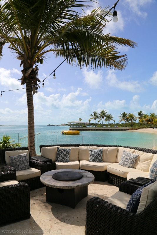 blue haven turks and caicos firepit