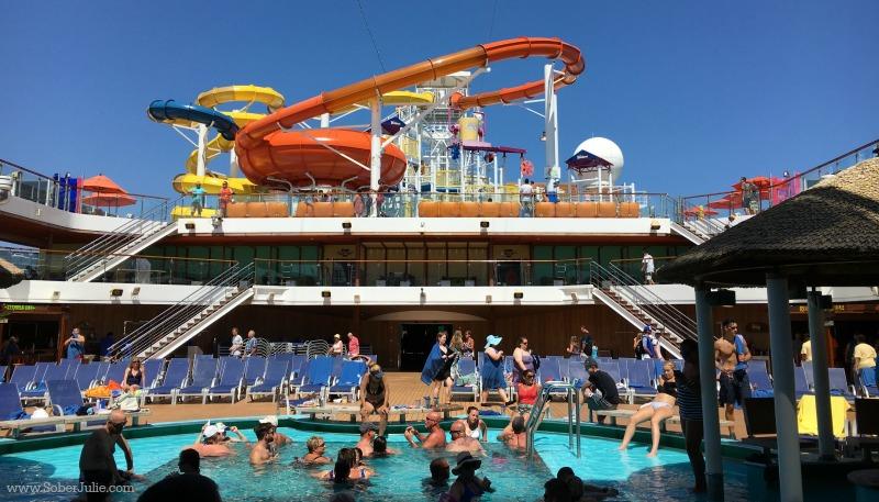carnival cruise magic pool lido deck