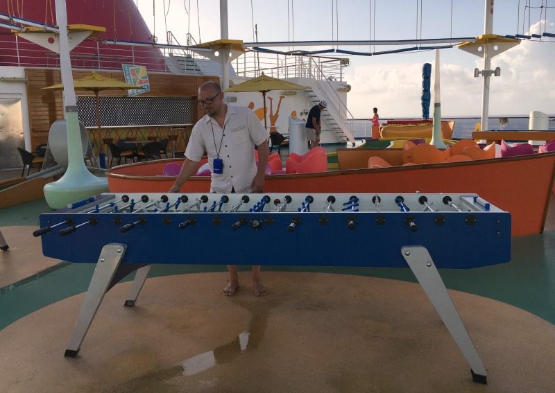 carnival magic sports fooseball
