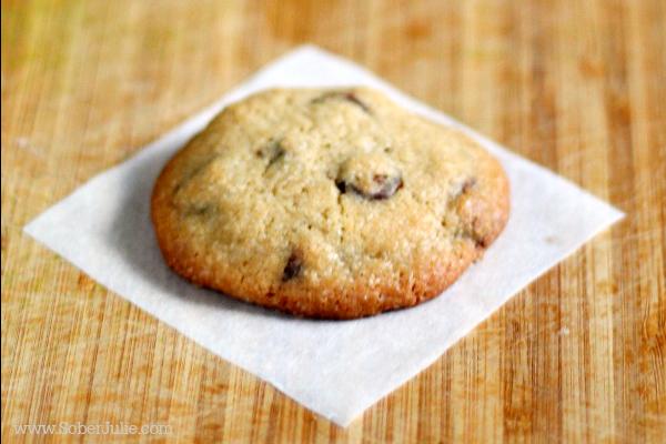 soft chocolate chip cookie recipe close
