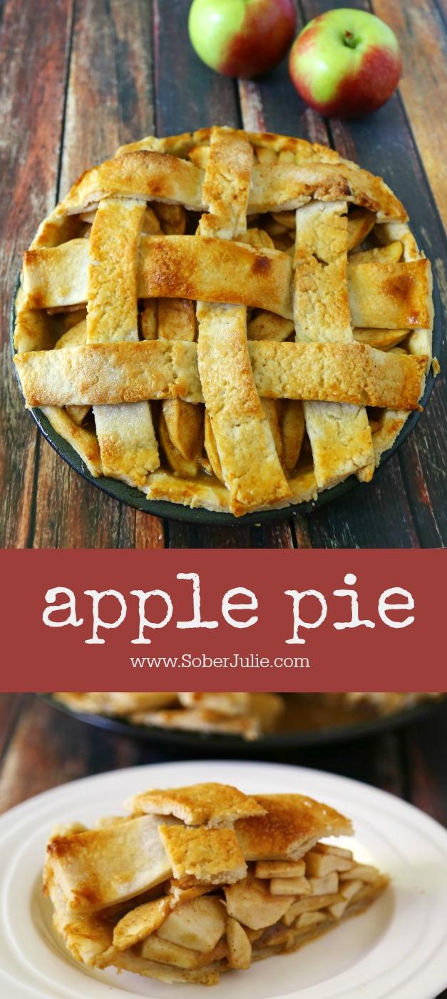 apple pie recipe - super easy and delicious
