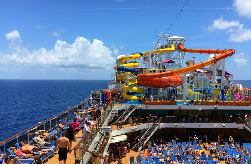 carnival cruise magic waterworks