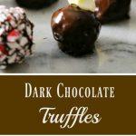 Dark Chocolate Truffles Recipe – Too Easy to Believe