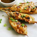 Honey Garlic Chicken Skewers