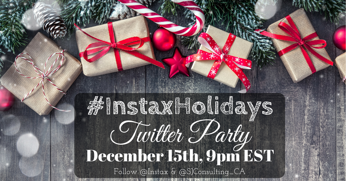 instaxholidaystwitterparty