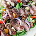 Low Carb Pesto Steak Salad Recipe