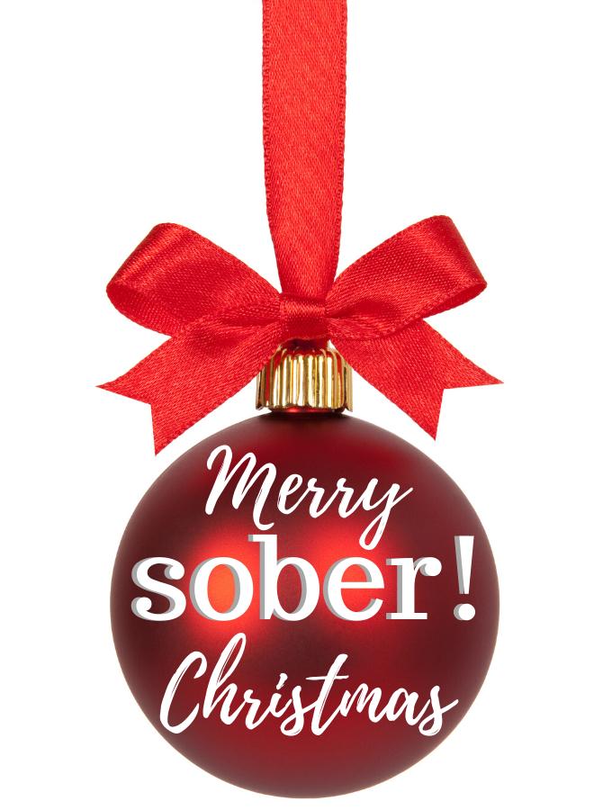sober Christmas tips
